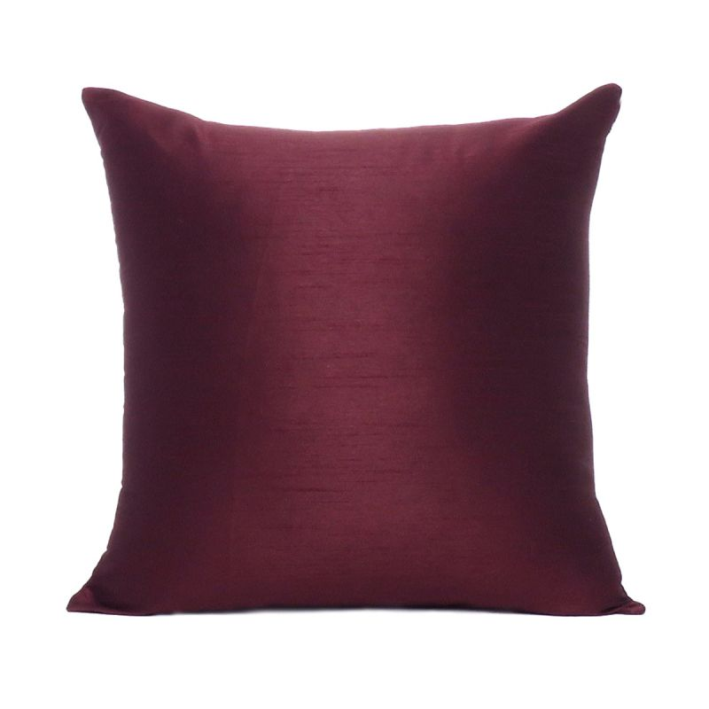 Decorative Reversible Solid Cushion Cover Throw Pillow Cases for Sofa Couch  Decor Size 18x18 c2db8819d1