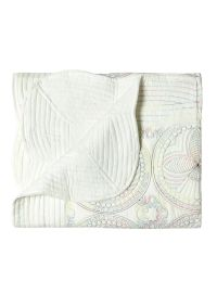 Soft 100% Cotton Embroider Baby Crib Blankets Comfortable Quilts For Newborn Baby