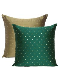 Decorative art silk cushion Cover for Home Decor