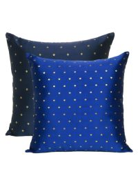 Decorative Art silk Reversible Solid Cushion Covers