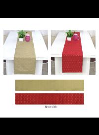 Art Silk Reversible Table Runner for Home Kitchen Decor  Pack of 1