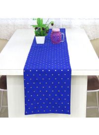 Handmade Home Kitchen Decor Art Silk Table Runners for Dining Table