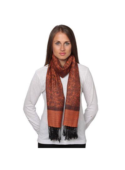 Fashionable Paisley Pattern Silk Acrylic Women's Scarfs and Winter Shawl Wraps