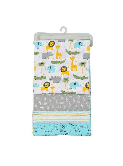 Newborn Baby Cotton Receiving Blankets Pack of 4