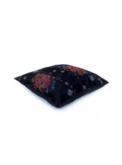 Handmade Sateen Floral Organza Silk Cushion Covers