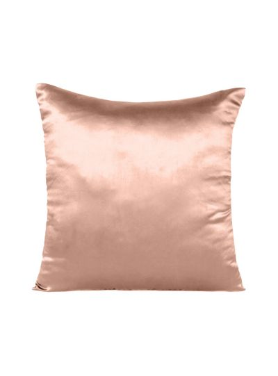 Oussum Silk Satin Solid Cushion Cover Soft Comfortable Home Decorative Throw Pillowcases