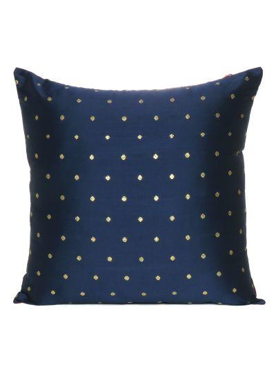 Art Silk Solid Hand Made Cushion Cover Home Decor