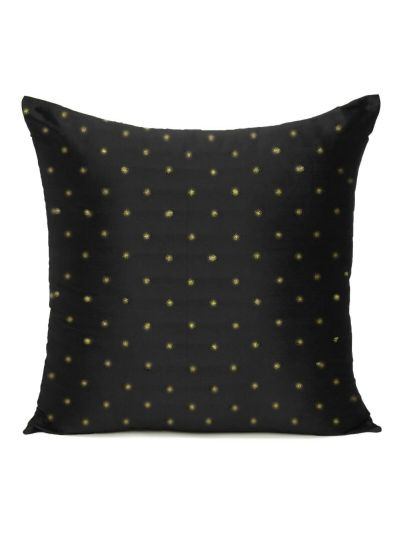 Home Decor Art Silk Solid Cushion Covers Set of 2