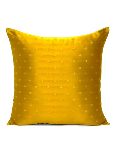 Art silk Handmade Solid Cushion covers for Room Decor