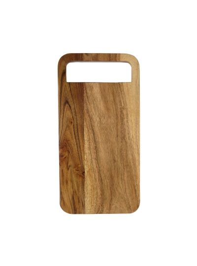 Handmade Solid Wooden Cutting Board With Handle
