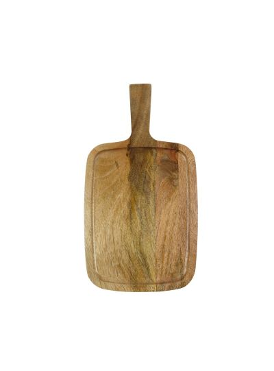 Handmade Wooden Cutting Boards Set With Handle