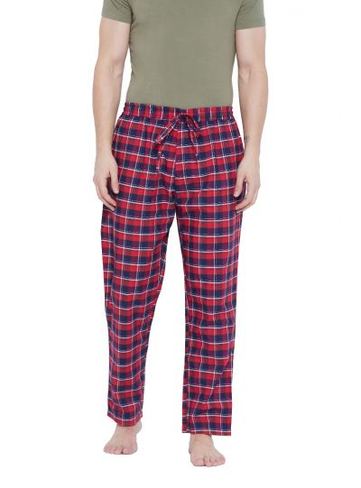 Men Drawstring  Essentials Cotton Lounge Pajama Pant with Pockets