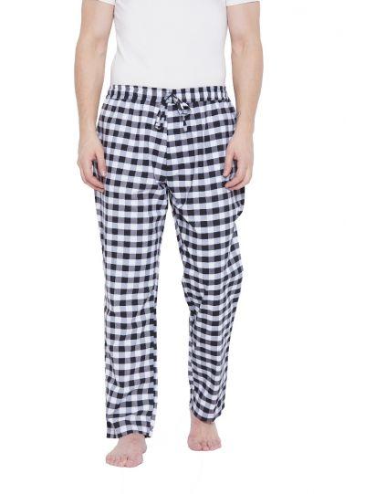 Men Cotton Drawstring Lounge Pajama Pant with 2 Pockets