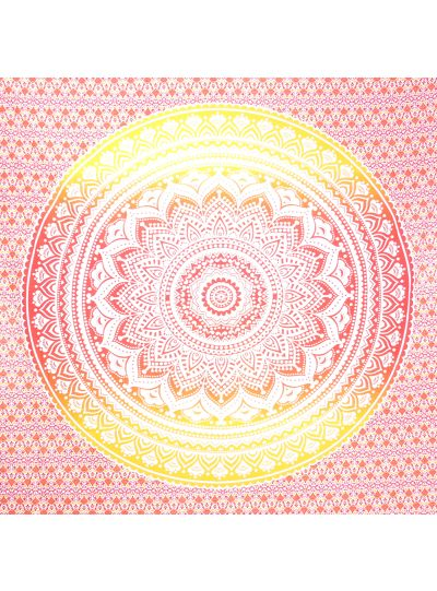Boho Ombre Mandala Tapestry Hippie Wall Hanging College Dorm Room Tapestries Beach Blanket Queen Size Bedspreads