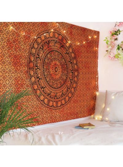 Tapestry Mandala Twin Wall Indian Hanging Ombre Bohemian Mandala Decor Online