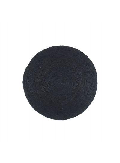 Oussum Hand woven Reversible Round Jute Floor Rugs