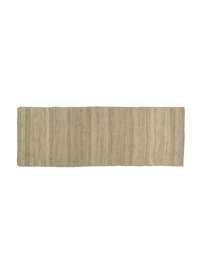 Oussum Hand Woven Solid Jute Rectangle 2X6 Floor Rugs