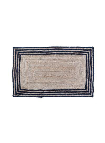 Hand Woven Braided Rectangle Jute Floor Rugs