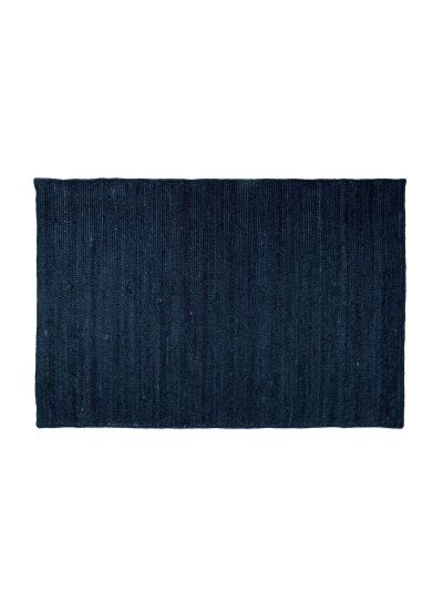 Oussum Solid Hand Woven Jute Rectangle Floor Rugs