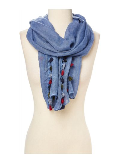 Lightweight and Comfy Tassel Scarf for Women Casual Summer Fashion Scarves Online