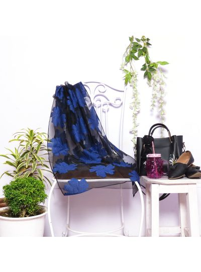 Soft Silk Floral Scarf for Women Summer Winter Fashion Scarves Online
