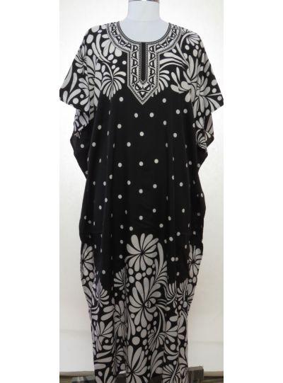 Women Floral Print Long Maxi Dress Evening Gown Party Beach Wear Summer Caftan