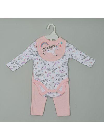 Baby Clothes Jumpsuit Pant Creepers Bib Bodysuit Set