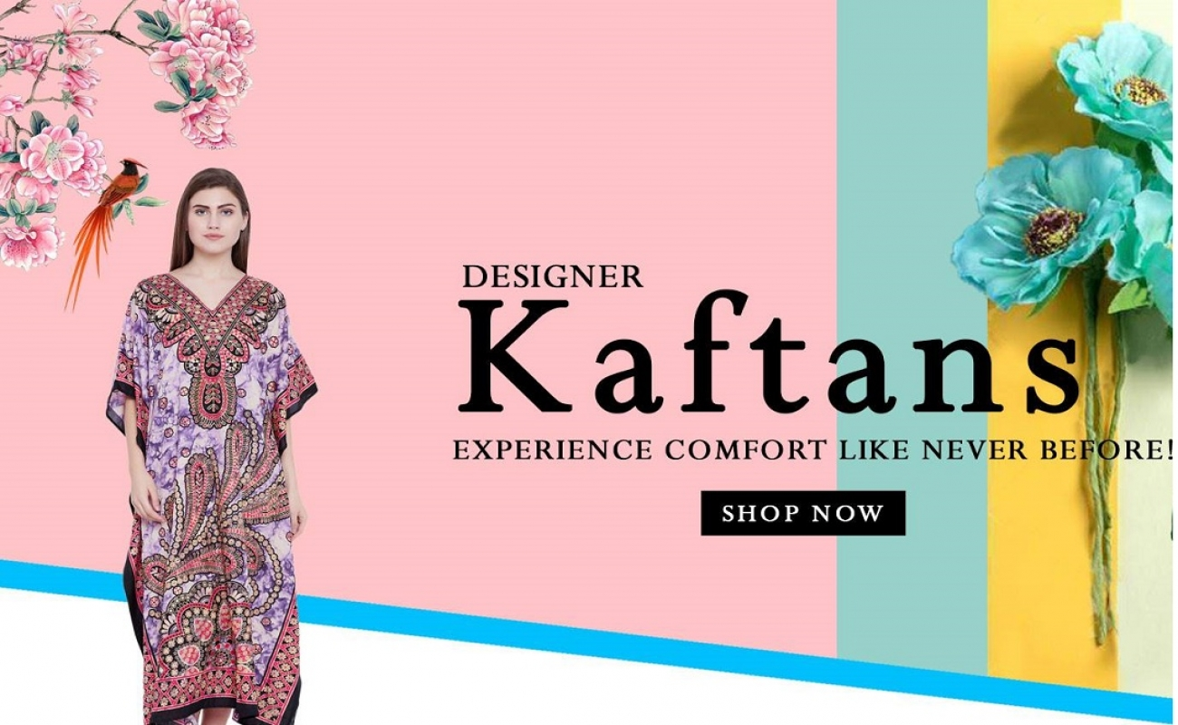 The Pleasures of wearing a Kaftan